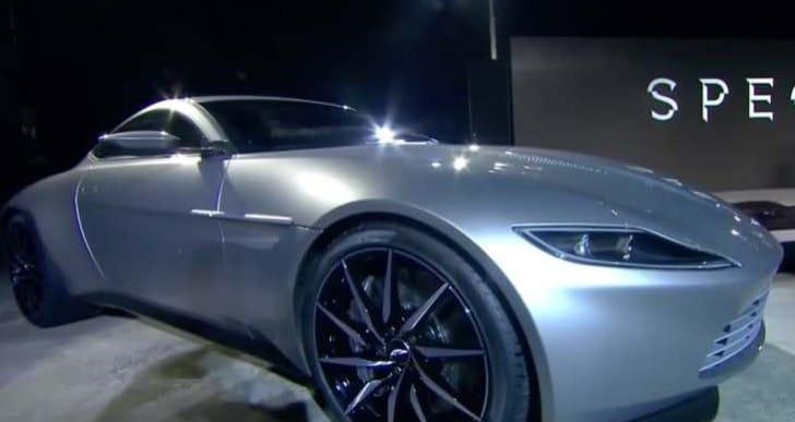 Aston Martin DB10 with Mercedes-AMG engine
