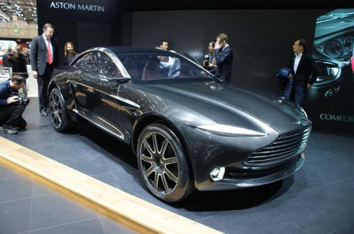 Aston Martin DBX production not soon enough