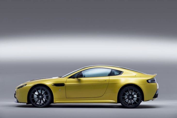Aston Martin V12 Vantage S performance detailed in specs 2
