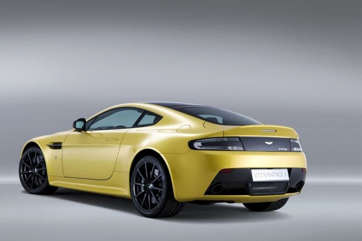 Aston Martin V12 Vantage S performance detailed in specs 3