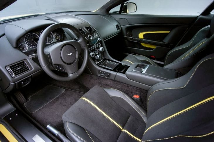 Aston Martin V12 Vantage S performance detailed in specs 4