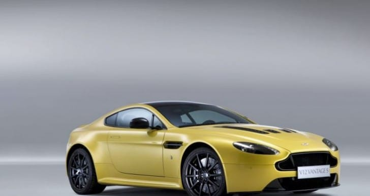 Aston Martin V12 Vantage S price for performance specs