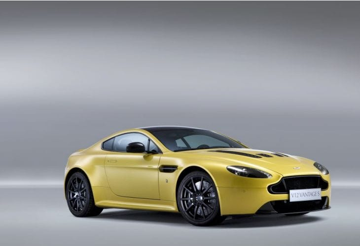 Aston Martin V12 Vantage S performance detailed in specs