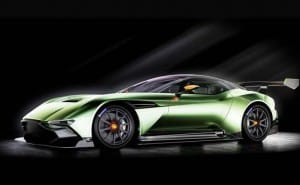 Aston Martin Vulcan similarities to DB10 and One-77