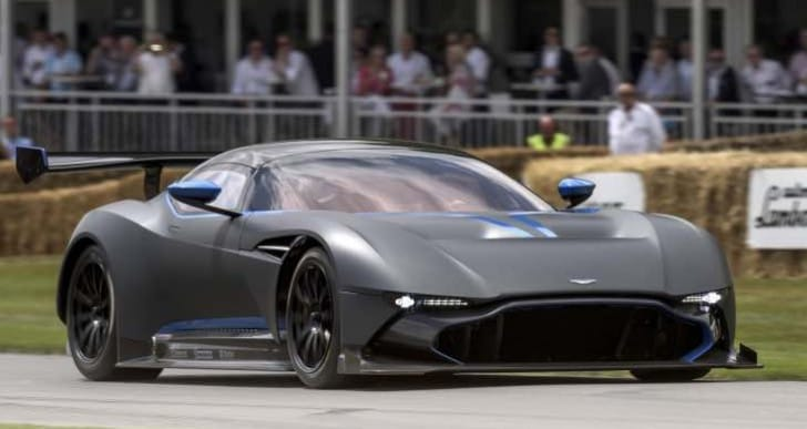 Aston Martin Vulcan and Acura NSX test track videos