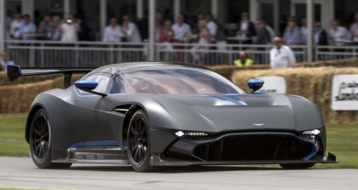 Aston Martin Vulcan and Acura NSX test track videos