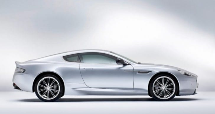 Aston Martin recalls 5 models in 2013