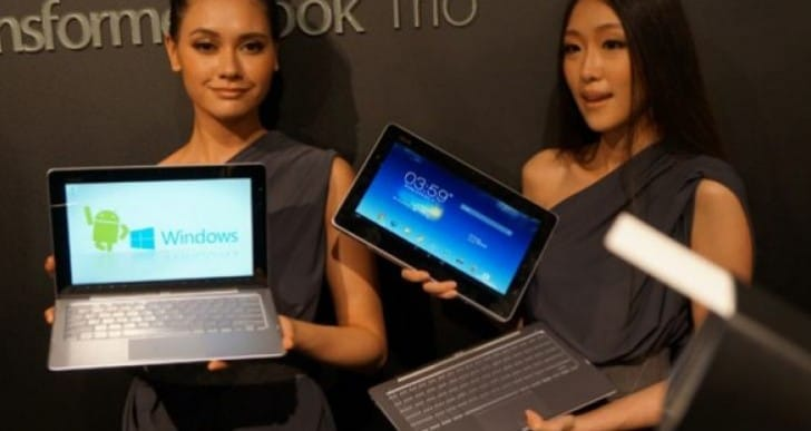 Asus Transformer Book Trio TX201LA  in visual review