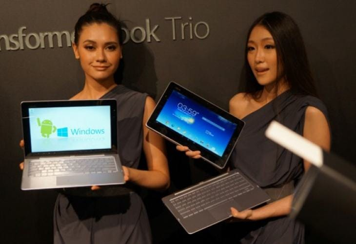 Asus Transformer Book Trio review gets visualized