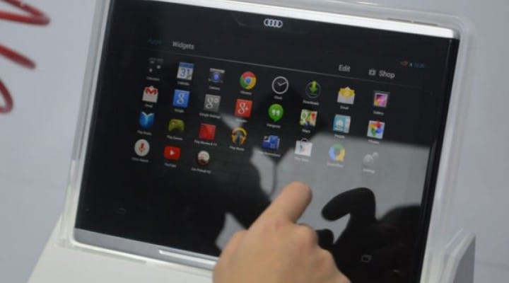 Audi 10.2-inch Smart Display shuns iPad for Android