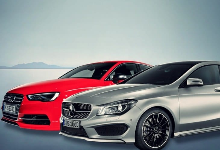 Audi A3 2015 vs. 2014 Mercedes CLA