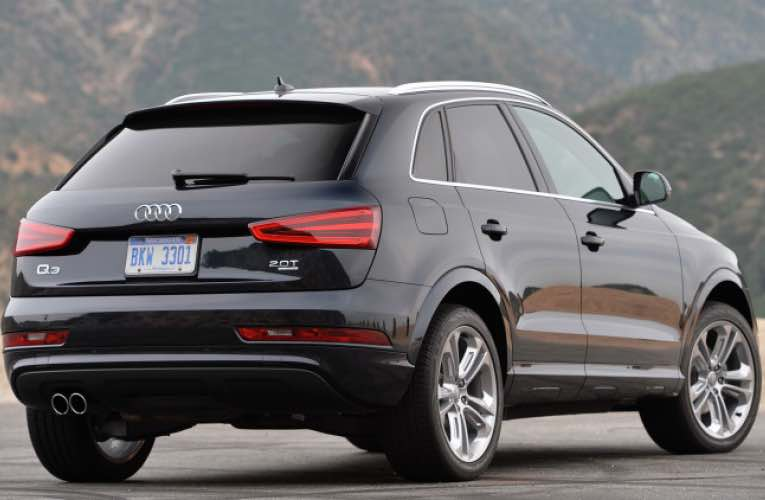Audi Q3 sunroof recall for April
