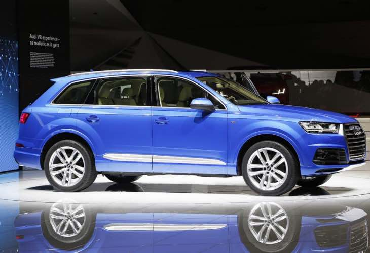 Audi Q7 e-tron Quattro fuel economy figure astounds