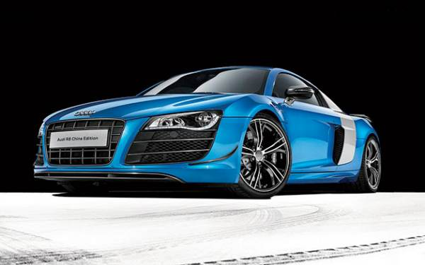 Audi R8 for China, price MIA