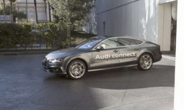 Audi followed by Lexus, Audi self-driving cars at CES