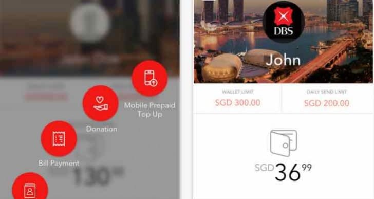August DBS update for PayLah service app