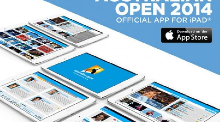 Australian Open 2014 app delivers schedule and results