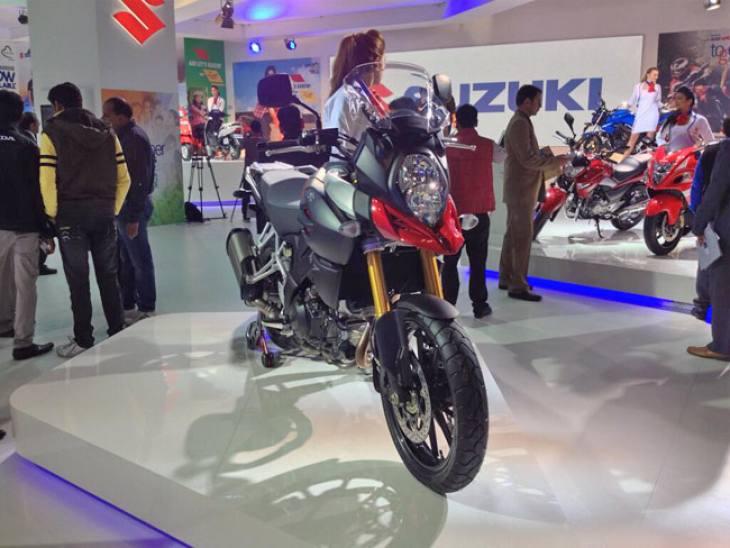Auto Expo 2014 bikes from India