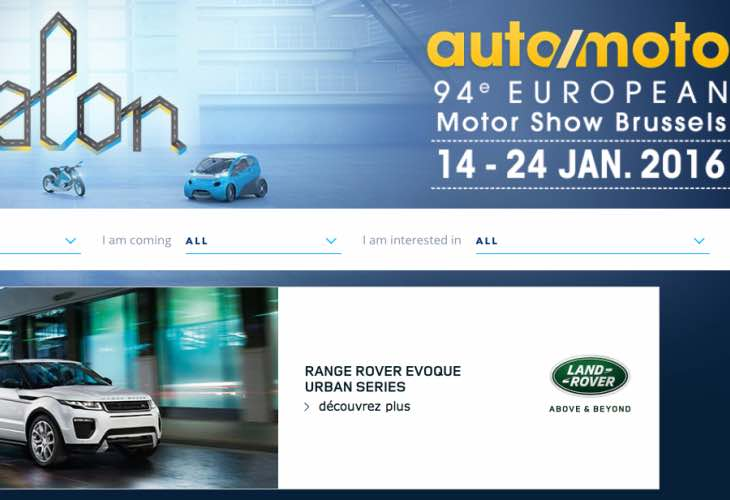 Auto Salon 2016 public days for tickets