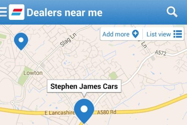 Auto Trader Mobile app