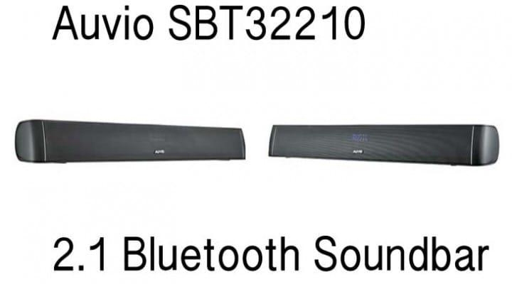 Auvio SBT32210 32-inch 2.1 Bluetooth Soundbar review