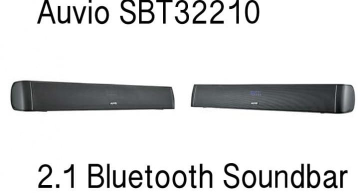 Auvio SBT32210 32-inch 2.1 Bluetooth Soundbar review