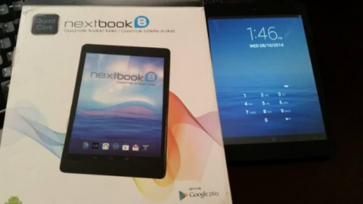Average Nextbook 7.85 tablet 8GB