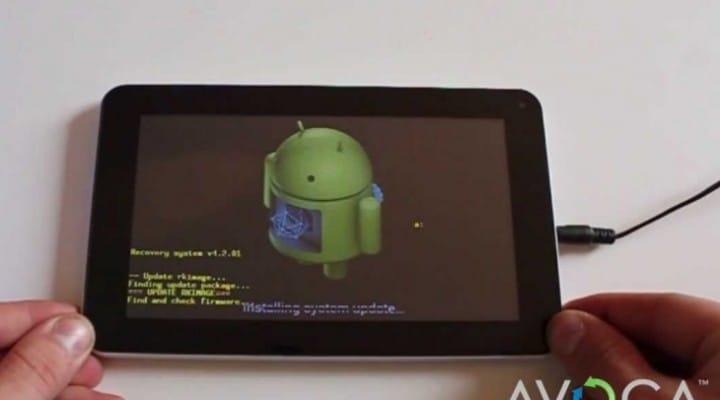 Avoca 7 tablet vs. Tesco Hudl for specs