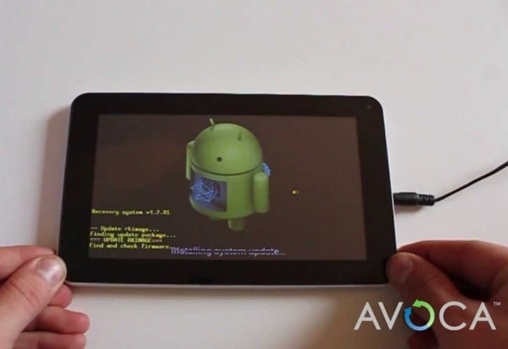 Avoca 7 tablet vs. Tesco Hudl for specs
