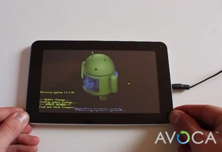 Avoca 7 tablet vs. Tesco Hudl