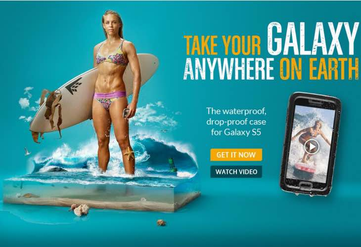 Awaiting LifeProof Fre for best Galaxy S6 waterproof case