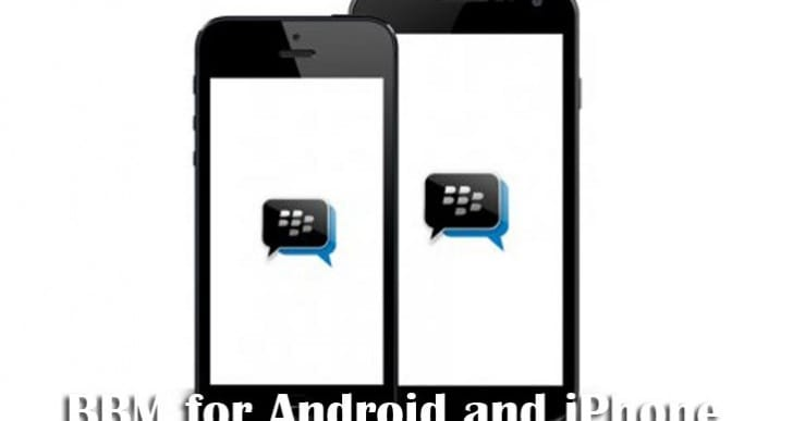 BBM for Android and iPhone could release in Sept