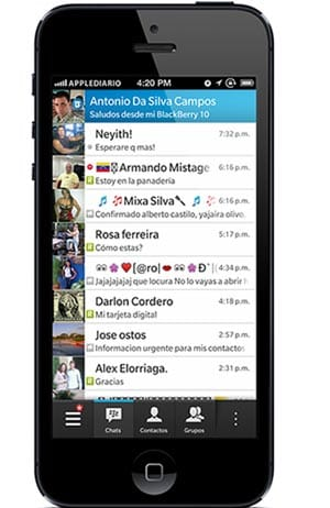 BBM-for-iOS-revealed