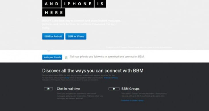 BBM Android, iOS release date arrives then goes