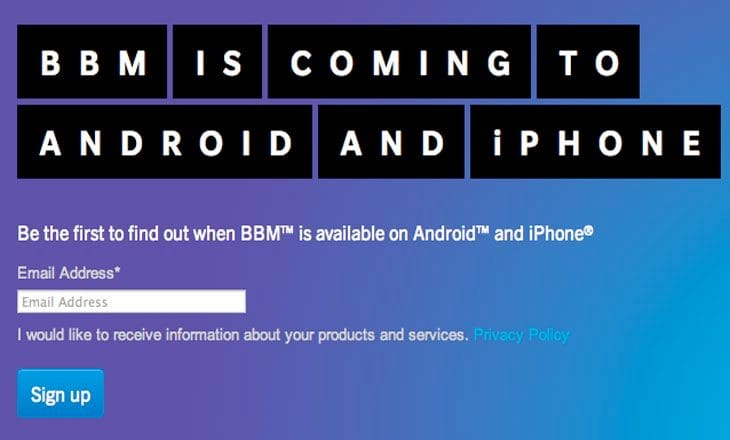 BBM release date for Android elusive, yet fundamental