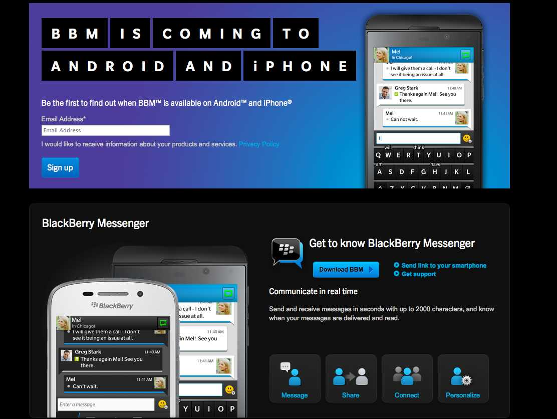 It is clear Windows Phone users would like some BBM action as well.