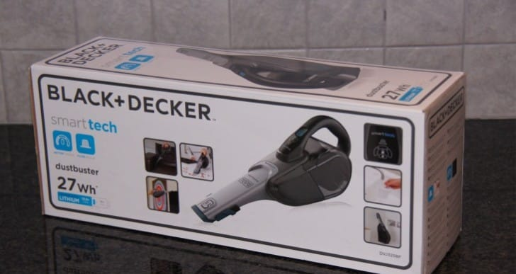 BLACK & DECKER Li-Ion Dustbuster review, powerful portable vacuum