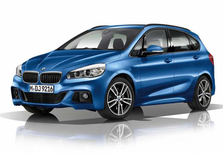 BMW 2 Series FWD Tourer US release