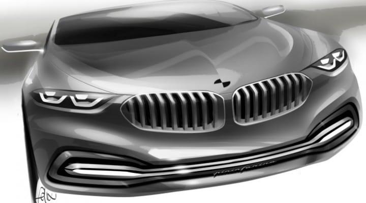 BMW 9 Series concept unveil at 2014 event