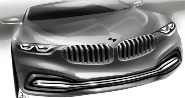 BMW 9 Series concept unveil at 2014 event