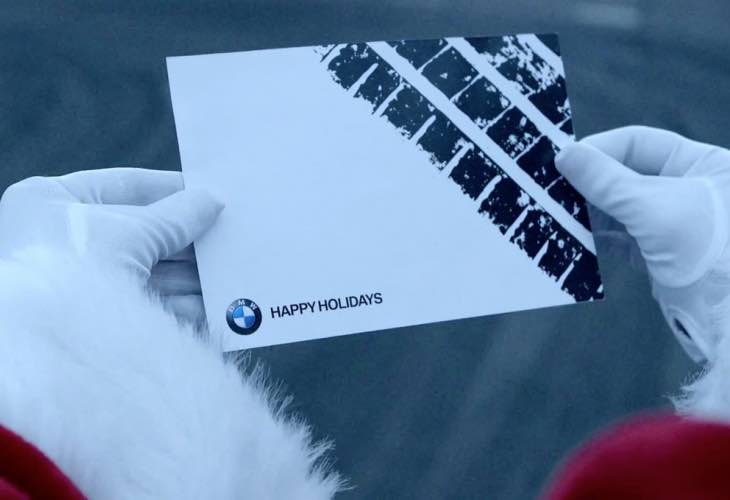 BMW Christmas commercial