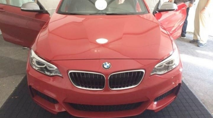 BMW M235i pre-launch pictures and specs