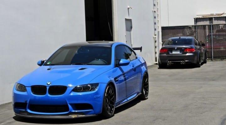 BMW M3 E92 takes on 2015 BMW M3 F80