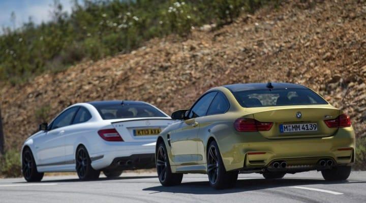 BMW M4 vs. Mercedes C63 AMG, not next-gen