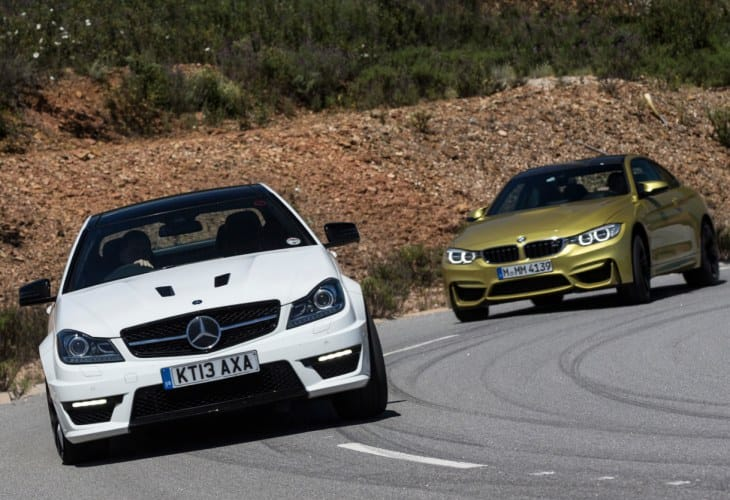 BMW M4 vs. Mercedes C63 AMG