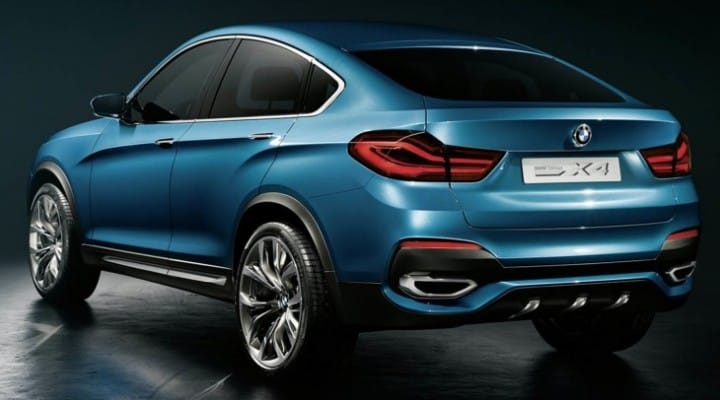 BMW X4 options and packages with prices