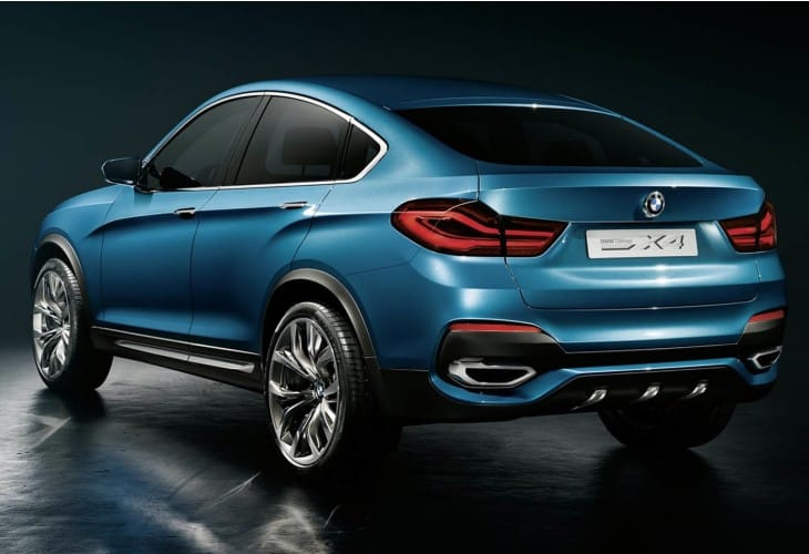 BMW X4 options packages with prices