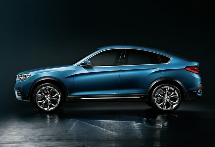 BMW X4 options