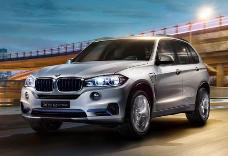 BMW X5 eDrive Concept New York Auto Show