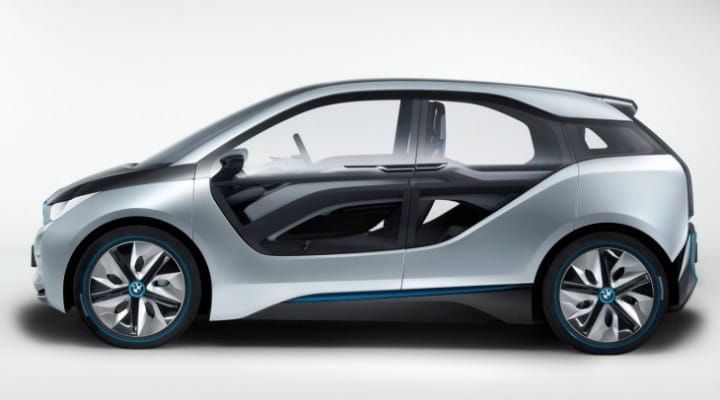 BMW i3 electric with double usable range
